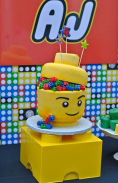 Lego cake #legocake