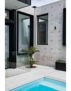 / Australian Architecture, Australian Homes, Interior Architecture, Breeze Block Wall, Quirky Decor, Minimal Decor, Prefab Homes, Interior Design Studio, Inspired Homes