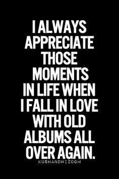 The best feeling is listening to something you haven't heard in years but really loved when you were listening to it
