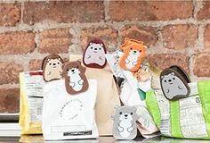 Conexão Décor www.conexaodecor.com Cozinha criativa no blog da Conexão Décor. And the cutest bag clips you've ever seen.