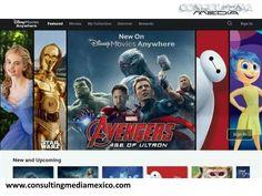 LA MEJOR AGENCIA DIGITAL. El próximo martes, Microsoft y Amazon ofrecerán películas vía streaming de Disney. Además, a partir del 15 de septiembre Walt Disney Studios comentó que lanzará esta aplicación en el servicio de streaming Roku Inc. así como Android TV. #lamejoragenciadigital