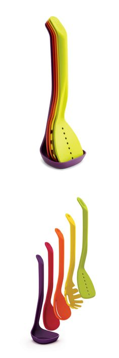 Space-saving cooking utensils