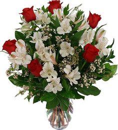 Valentine's Day Flower Arrangements | Canada Flowers > Valentine's Flowers > Valentine Colours #28: