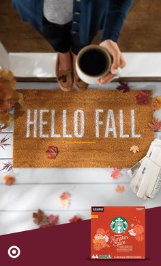 Welcome fall with Starbucks Pumpkin Spice Coffee. There's no better feeling than cozying up on your couch with some pumpkin spiced goodness that you can savor all season. Shop your favorite Starbucks beverages this fall at Target. Starbucks Pumpkin Spice, Pumpkin Spice Coffee, Rustic Thanksgiving, Thanksgiving Decorations, Welcome Fall, Autumn Cozy, Happy Fall Y'all, Fall Home Decor, Autumn Inspiration