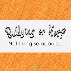#Bullying or not? What do you think? #BullyNoMore