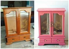 Carissa Miss: Antique Painted Jewelry Box