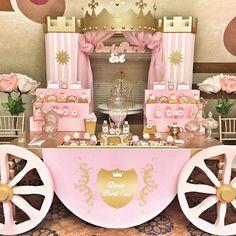 Princess Birthday Party Decorations, Disney Princess Birthday Party, Princess Theme Party, Cinderella Birthday, Baby Shower Princess, Birthday Party Themes, Girl Birthday, Purple Princess Party, Princess Sophia