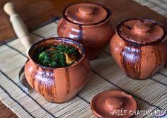 Clay Pot Buckwheat & Vegetables (use vegan sour cream or cashew cream to sub)