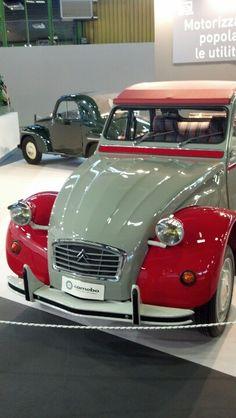 Old french car #motorshow • Citroen 2CV Dolly
