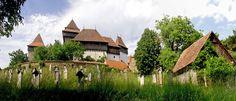 Viscri, fortress church