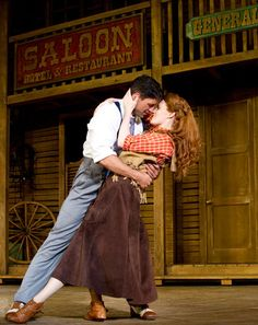 Crazy For You at the Novello Theatre