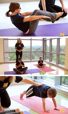 YOGA FOR KIDS: Tips and a how-to-video from a physical therapist on what yoga moves are a hit with kids