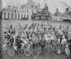 1890's Elmira, NY Bike Club, via Flickr.
