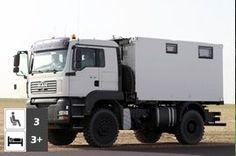 MAN TGA 18.430 4x4 Expedition Truck
