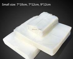 100pcs/lot  Small Size Vacuum Heat Sealer Food Saver Bags Food Storage Bags Food-Grade Vacuum Packaging Bags