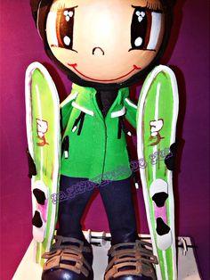 Fofucha esquiadora