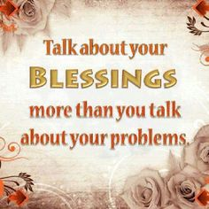 Are you #blessed? Tell someone about it! #wordstoliveby