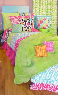 Tween/Teen Bedding | Patch Zebra Kids Bedding Collection - Sweet and Sour Kids