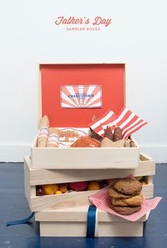 Father's Day Sampler Boxes DIY Gift Idea