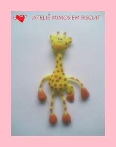 Girafa Articulada - Ímã de Geladeira