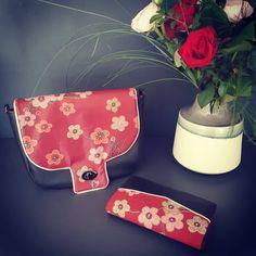 atelier_ophea Sac a main et son portefeuille #couture #faitmain #sacotin #sacotinaddict #sacotinmenuet #cadeau