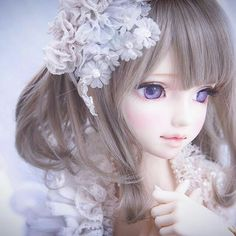 Anime Dolls, Blythe Dolls, Barbie Dolls, Pretty Dolls, Beautiful Dolls, Lolita Gothic, Beautiful Fantasy Art, Kawaii Doll, Smart Doll