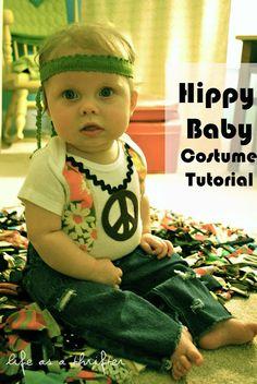 Hippy Baby costume
