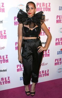 What were they wearing?! Leona Lewis at Perez Hiltons 32nd birthday bash!