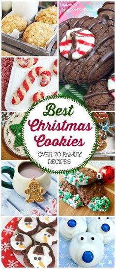 Holiday Snacks, Holiday Cookies, Christmas Desserts, Christmas Treats, Christmas Fun, Holiday Recipes, Christmas Recipes, Best Christmas Cookie Recipe, Christmas Cookie Exchange