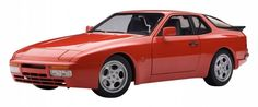 F/S AUTOart PORSCHE 944 TURBO 1985 GUARDS RED 1/18 Scale Model Car from Japan #AUTOart #PORSCHE