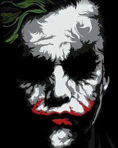 Tattoos Discover The Dark Knight Joker Poster Wall Art Print Prints Heath Ledger Joker Le Joker Batman Der Joker Joker Art Joker And Harley Quinn Joker Comic Batman Wallpaper Joker Quotes Wallpaper Batman Artwork Joker Poster Art Du Joker, Le Joker Batman, Der Joker, Joker And Harley Quinn, Gotham Batman, Joker Comic, Batman Robin, Comic Art, Batman Wallpaper