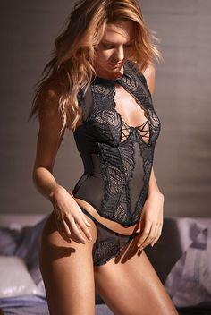 Candice Swanepoel for Victoria's Secret February 2015