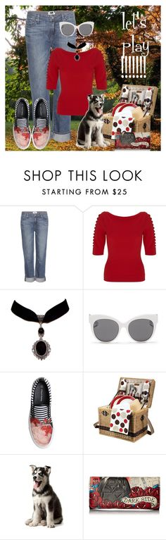 """""""let's play!!!!!!!"""" by ffendi ❤ liked on Polyvore featuring Paige Denim, Temperley London, Blanc & Eclare, Mother of Pearl, Picnic Time and Loungefly"""