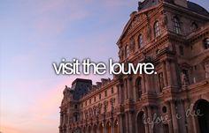 My dreams before I die...