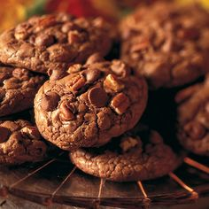 Ghirardelli Baking: Chocolate Chip Pecan Cookies Recipe Impressive Results Worth Sharing. Bake with Ghirardelli.