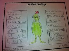 Grinch That Stole Christmas Activities