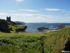 Il Gylen Castle sull'isola di Kerrera, #scozia