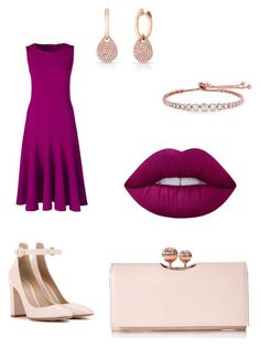 """""""Наив ср-яр полуприт"""" by valeria-taruta on Polyvore featuring мода, Lands' End, Gianvito Rossi, Ted Baker, Lime Crime, Anne Sisteron и CARAT* London"""
