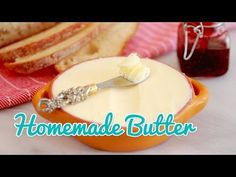 How to Make Homemade Butter - Home and Gardening Ideas