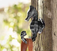 Seahorse Single Hook   Pottery Barn