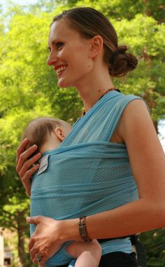 Hot Weather Can Turn Using A Baby Carrier Into A Seriously Sweaty