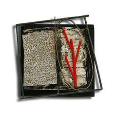 Contemporary Jewellery, Modern Jewelry, Vintage Jewelry, Handmade Jewelry, Enamel Jewelry, Jewelry Art, Jewelry Design, Found Object Jewelry, Mixed Media Jewelry