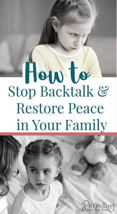 For a parent, one of the most humbling and frustrating experiences is when your child backtalks or disrespects you. This powerful approach is rooted in positive discipline and will calm the most disrespectful behaviour and stop backtalk. #positiveparenting #tweens #teens #positivediscipline #parentingfromtheheart