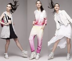 Sporty Spice: Topshop Goes Tough-Girl Chic for Spring with Fun Athletic Fashion