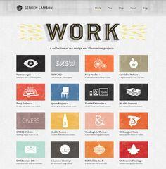 Website, portfolio / grungy/handmade style   #webdesign #portfolio #backgrounds