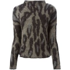 By Malene Birger Magolian Sweater ($381) ❤ liked on Polyvore featuring tops, sweaters, grey, gray sweater, by malene birger, grey sweater, grey top and gray top