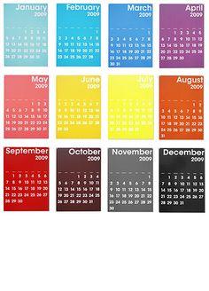 Calendar 2009 : Quentin Delobel