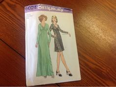 Mimi's Loft:  I just acquired these vintage dress patterns from...