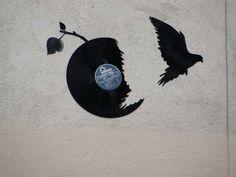 Vinyle graff
