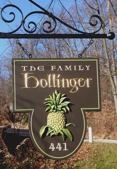 Hollinger Family Property Sign | Danthonia Designs